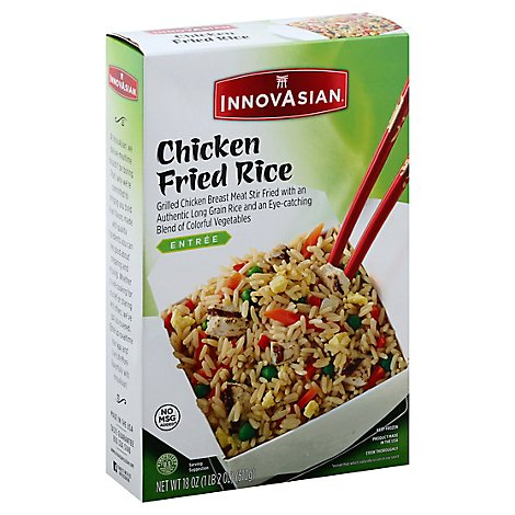 InnovAsian Cuisine Sides Fried Rice Chicken - 18 Oz