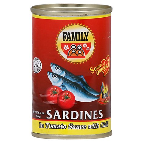 Family Sardines In Chili Hawaii - 5.5 Oz