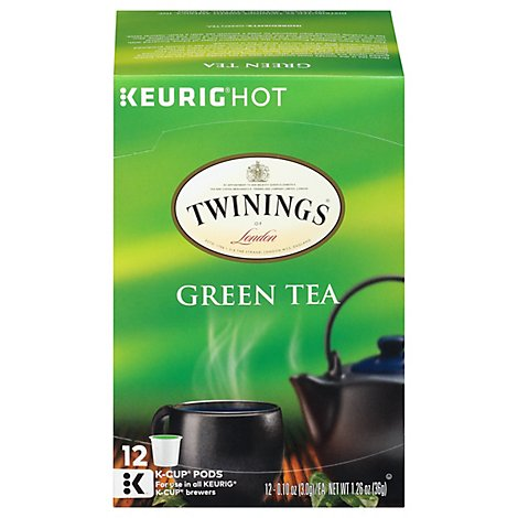 Twinings Tea Green K Cup Pod - 12 Count