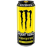 Monster Energy Rehab Energy Drink Iced Tea Lemonade - 16 Fl. Oz.