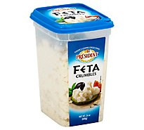 President Cheese Feta Crumbled Regular - 24 Oz