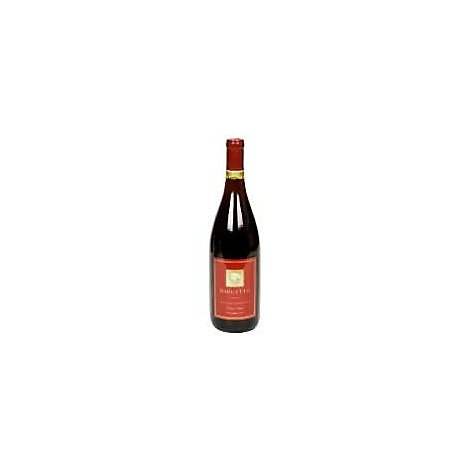 Bargetto Santa Cruz Mountains Pinot Noir Wine - 750 Ml