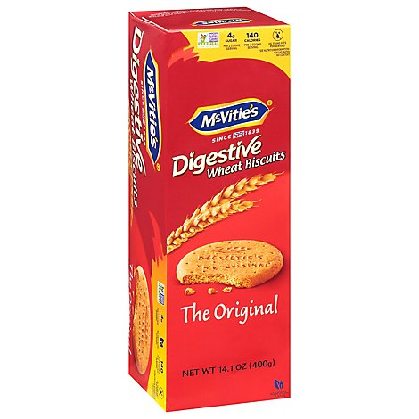 McVities Digestive Biscuits Wheat The Original 0g Trans Fat - 14.1 Oz