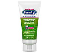 Benadryl Childrens Itch Cooling Gel - 3 Oz