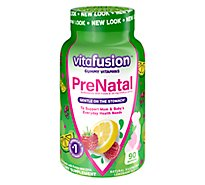 VitaFusion Vitamins Gummy Prenatal - 90 Count
