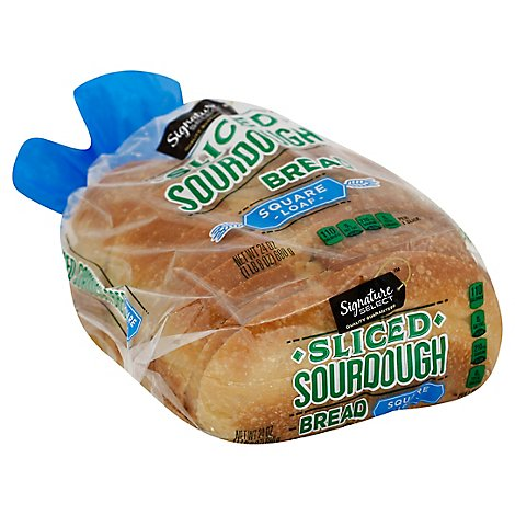 Signature SELECT Bread Square Sliced Loaf San Francisco Style Sourdough - 24 Oz
