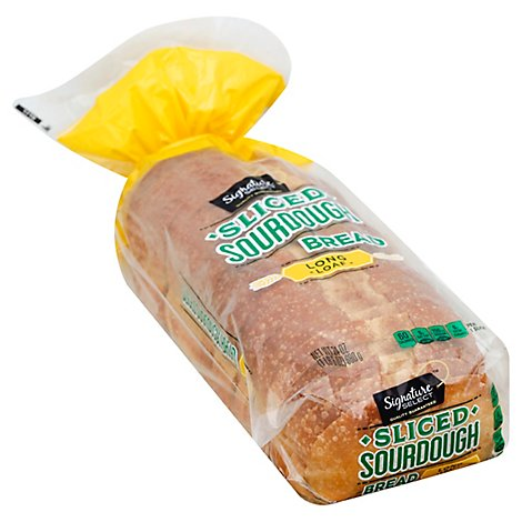 Signature SELECT Bread Long Sliced Loaf San Francisco Style Sourdough - 24 Oz