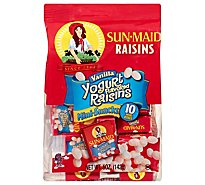 Sun-Maid Raisins Vanilla Yogurt Mini-Snacks - 10-0.5 Oz