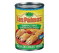 Las Palmas Sauce Enchilada Green Chile Mild Can - 10 Oz