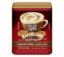 Hills Brothers. Cappuccino Drink Mix English Toffee - 16 Oz
