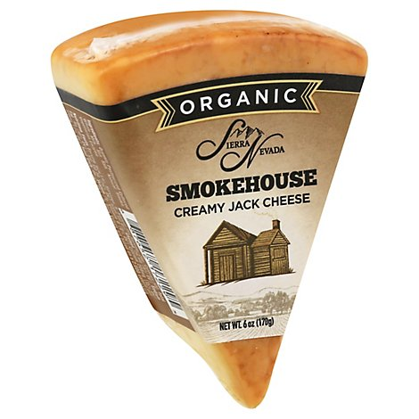 Organic Cheese Jack Smoked Wedges - 6 Oz