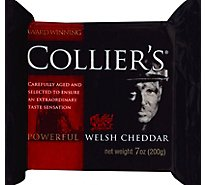 Colliers Welsh Cheese Cheddar - 7 Oz