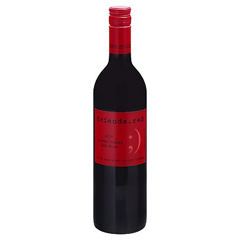 Pedroncelli Wine Friends Red - 750 Ml