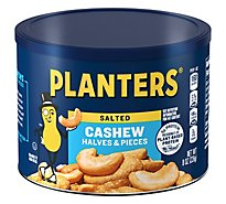 Planters Cashews Halves & Pieces - 8 Oz
