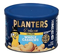 Planters Deluxe Cashews Whole - 8.5 Oz