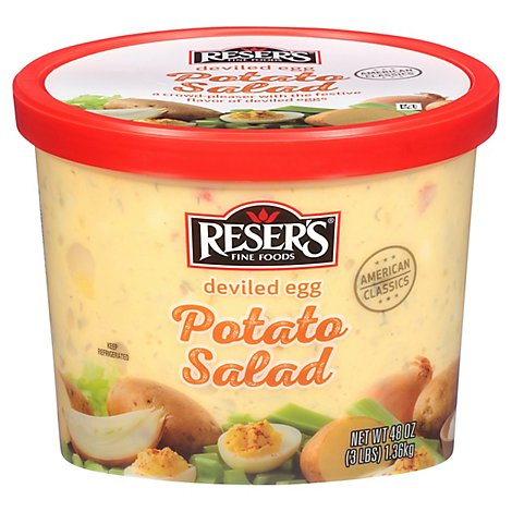 Resers American Classic Deviled Egg Potato Salad - 48 Oz.