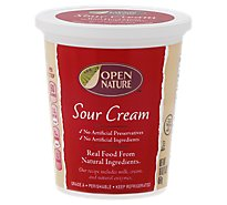 Open Nature Sour Cream - 16 Oz