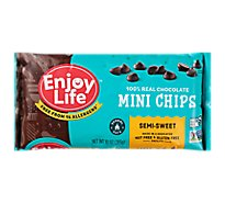 enjoy life Chocolate Semi-Sweet Mini Chips - 10 Oz