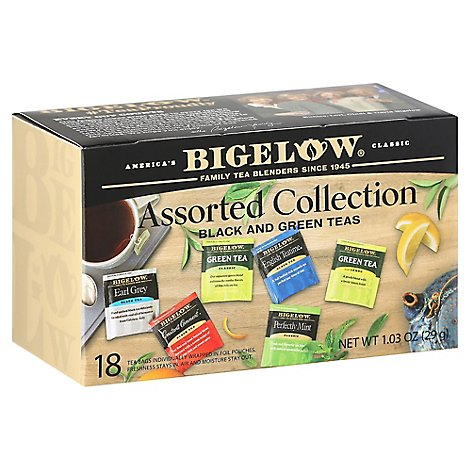 Bigelow Assorted Teas - 18 Count