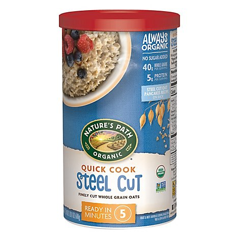 Country Choice Organic Oats Oven Toasted Steel Cut Quick Cook - 24 Oz