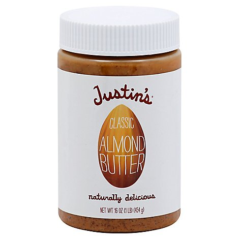 Justins Almond Butter Classic - 16 Oz