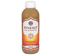 GTs Kombucha Organic & Raw Gingerade - 16 Fl. Oz.