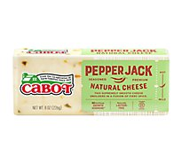 Cabot Cheese Pepper Jack - 8 Oz