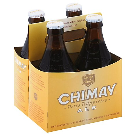 Chimay Peres Trappistes Ale Bottles - 4-11.2 Fl. Oz.