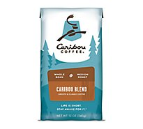 Caribou Coffee Coffee Whole Bean Medium Roast Caribou Blend - 12 Oz