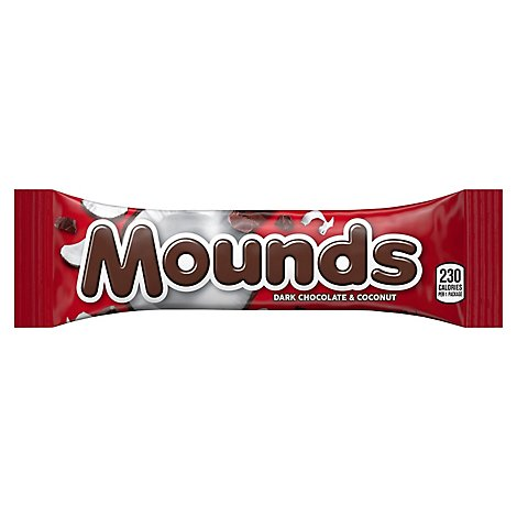 Mounds Dark Chocolate Coconut Filled - 1.75 Oz