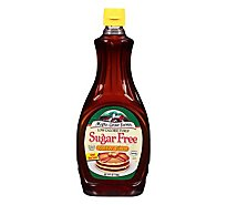 Maple Grove Farms Syrup Butter Flavor Low Calorie Sugar Free - 24 Fl. Oz.