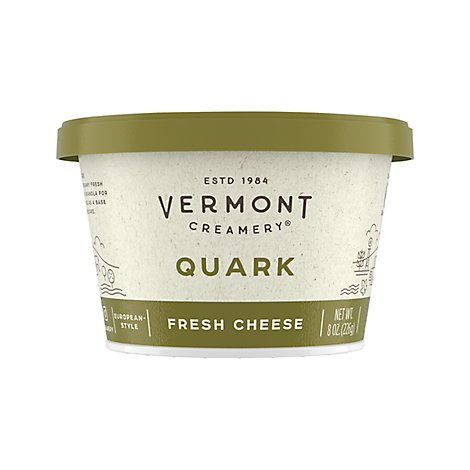 Vermont Creamery Cheese Quark - 8 Oz