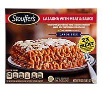STOUFFERS Classics Meal Lasagna with Meat & Sauce - 19 Oz