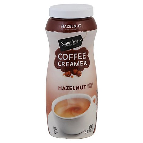 Signature SELECT Coffee Creamer Lactose Free Hazelnut - 15 Oz
