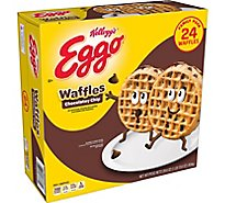 Eggo Waffles Chocolate Chip Family Pack 24 Count - 29.6 Oz