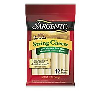Sargento Cheese String Mozzarella 12 Pack - 12 Oz