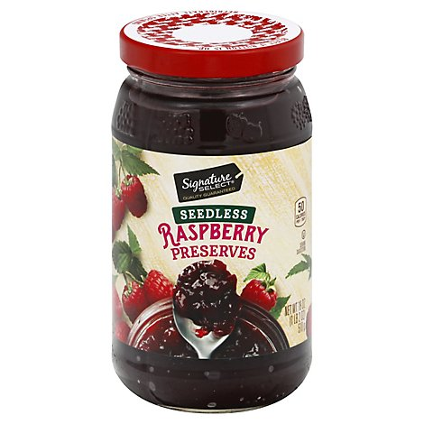 Signature SELECT Preserves Raspberry Seedless - 18 Oz