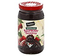 Signature SELECT/Kitchens Preserves Raspberry Seedless - 18 Oz