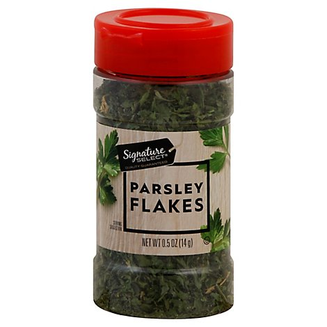 Signature SELECT Parsley Flakes - 0.5 Oz