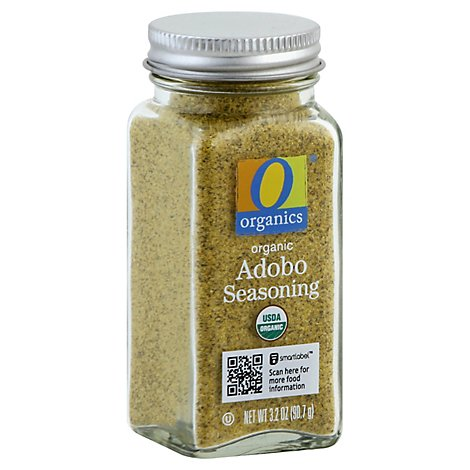 O Organics Organic Seasoning Adobo 3 2 Oz Carrs