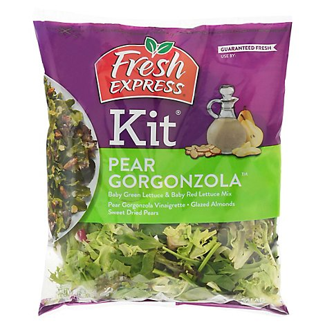 Fresh Express Pear Gorgonzola Salad Kit Prepackaged - 6.4 Oz