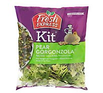 Fresh Express Salad Kit Pear Gorgonzola Prepacked - 6.4 Oz