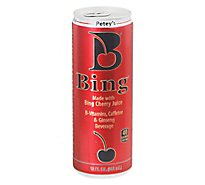 Bing Beverage Made with Bing Cherry Juice - 12 Fl. Oz.