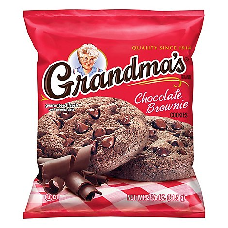 Grandmas Big Cookie Chocolate Brownie - 2.875 Oz