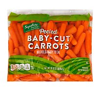 Signature Farms Baby-Cut Peeled Carrots - 16 Oz