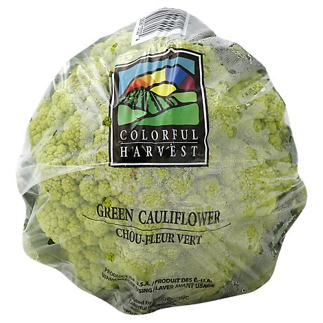 Colorful Harvest Heirloom Green Cauliflower - 1.7 Lb