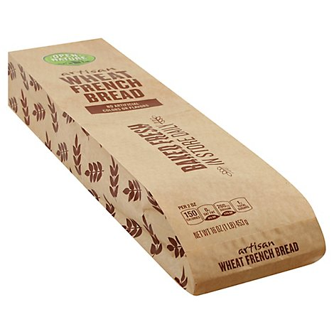 Open Nature Bread French Wheat - Each