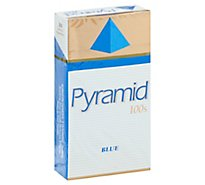 Pyramid Cigarettes Blue Box 100s - Pack