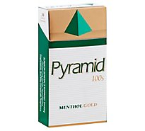 Pyramid Cigarettes Menthol Gold 100s Box FSC - Pack