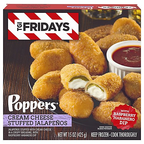 TGI Fridays Jalapenos Stuffed With Cream Cheese - 8-15 Oz
